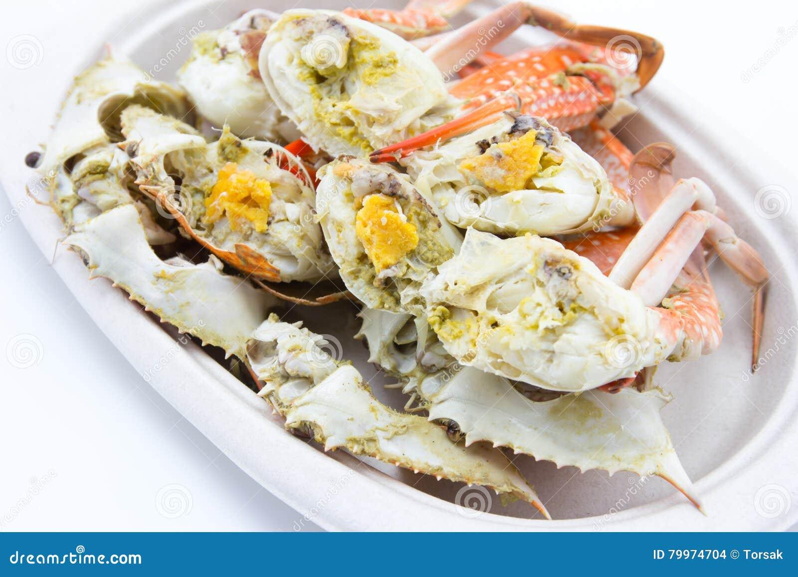 Odparowany krab
