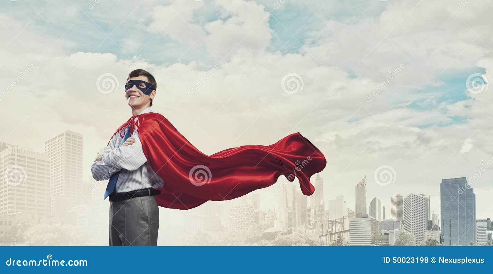 Odważny super bohater