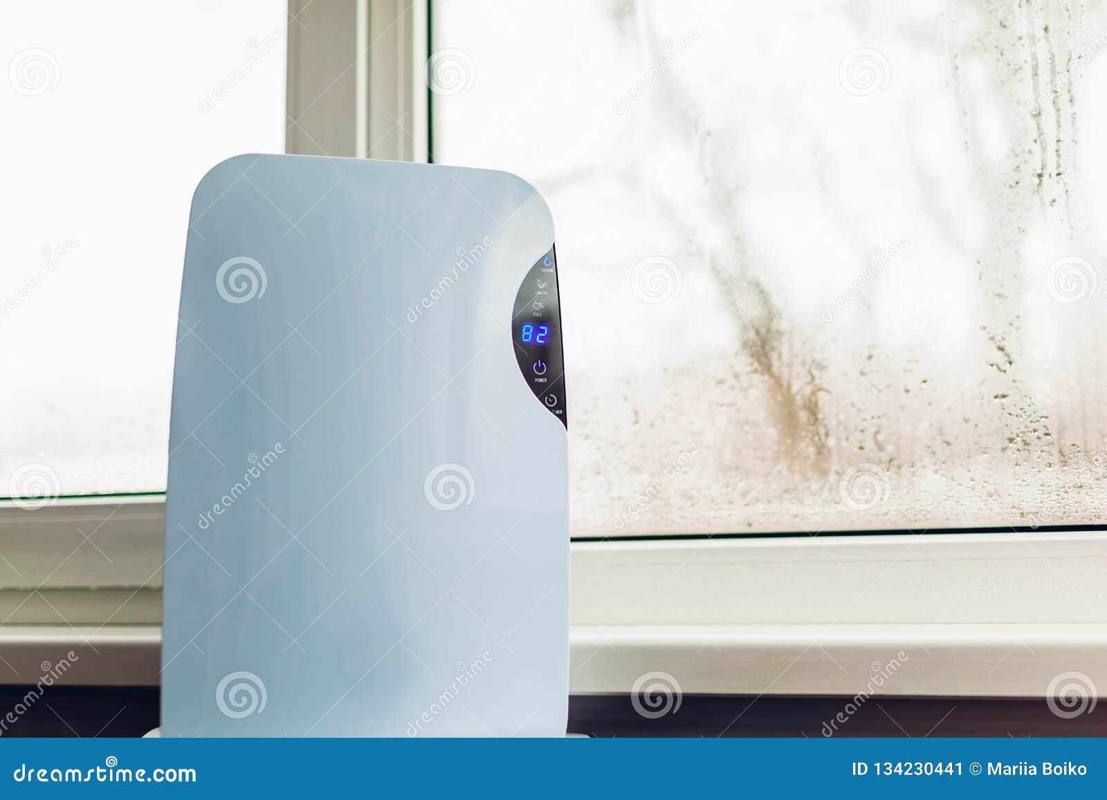 Odwilżacz z dotyka panelem, wilgotność wskaźnik, ultrafioletowa lampa, lotniczy jonizator, wodny zbiornik pracuje mokrym okno w m