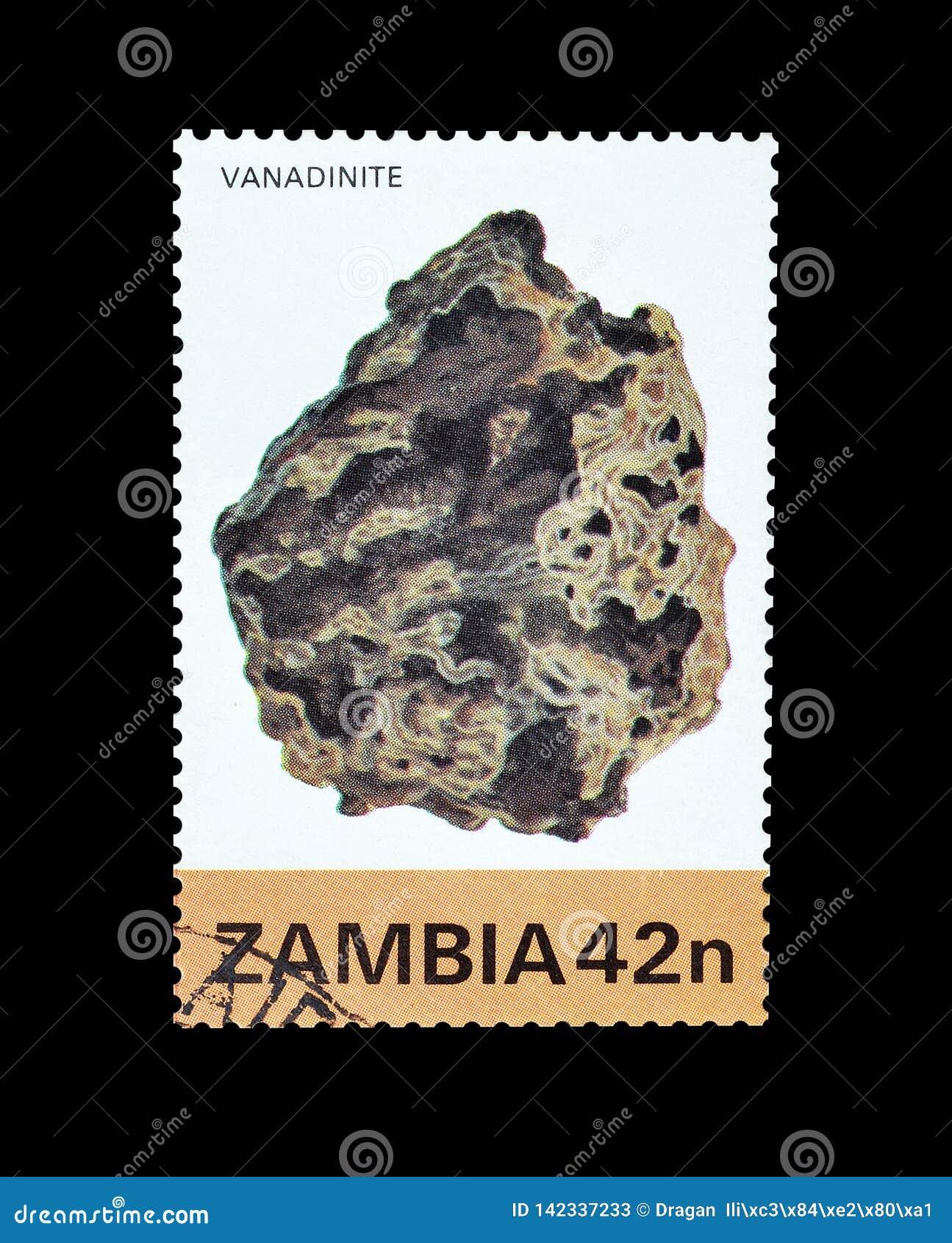 Odwoływający znaczek pocztowy drukujący zambiami