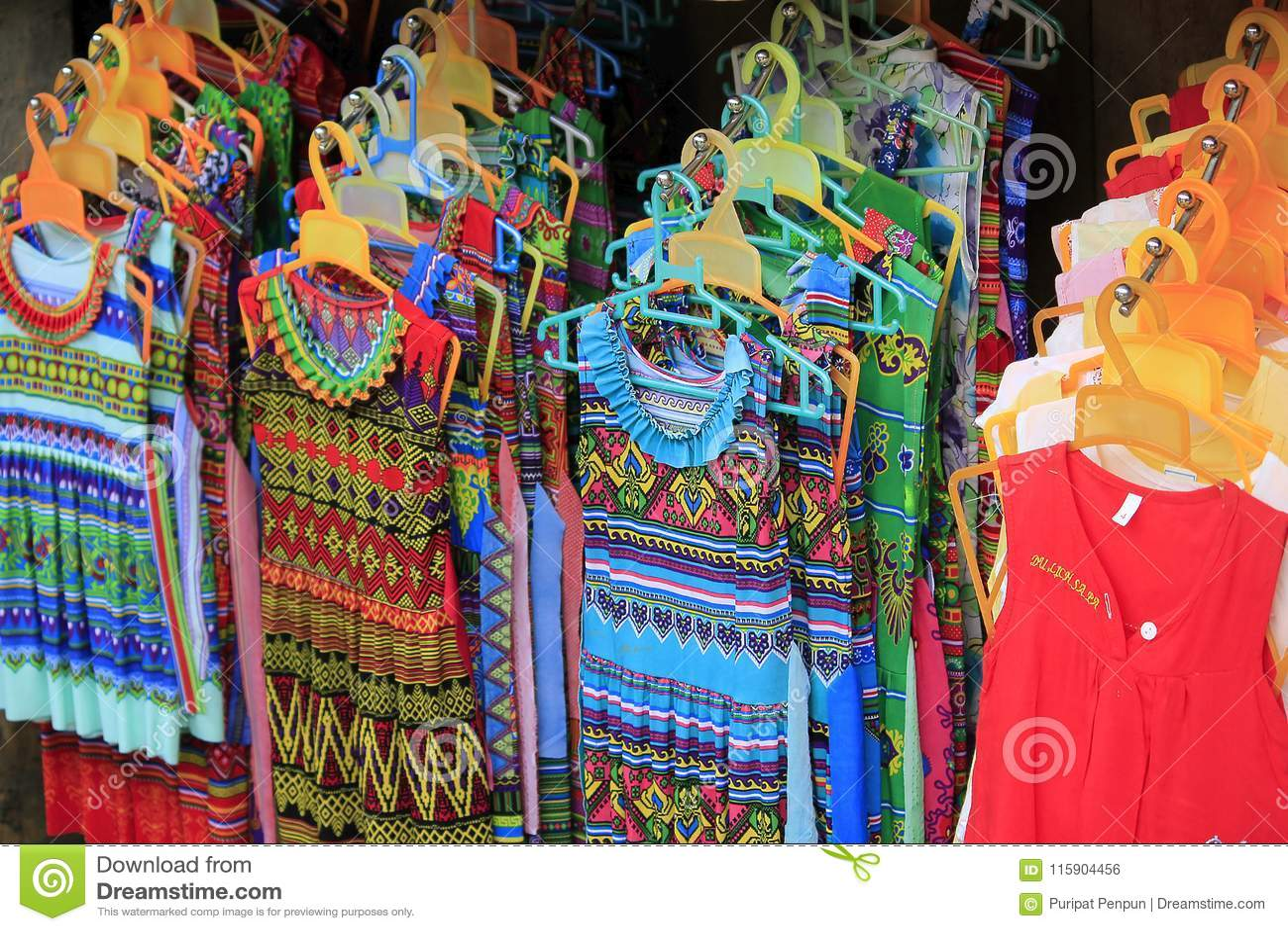 Odziewać dla kobiet w Sapa miasteczku `