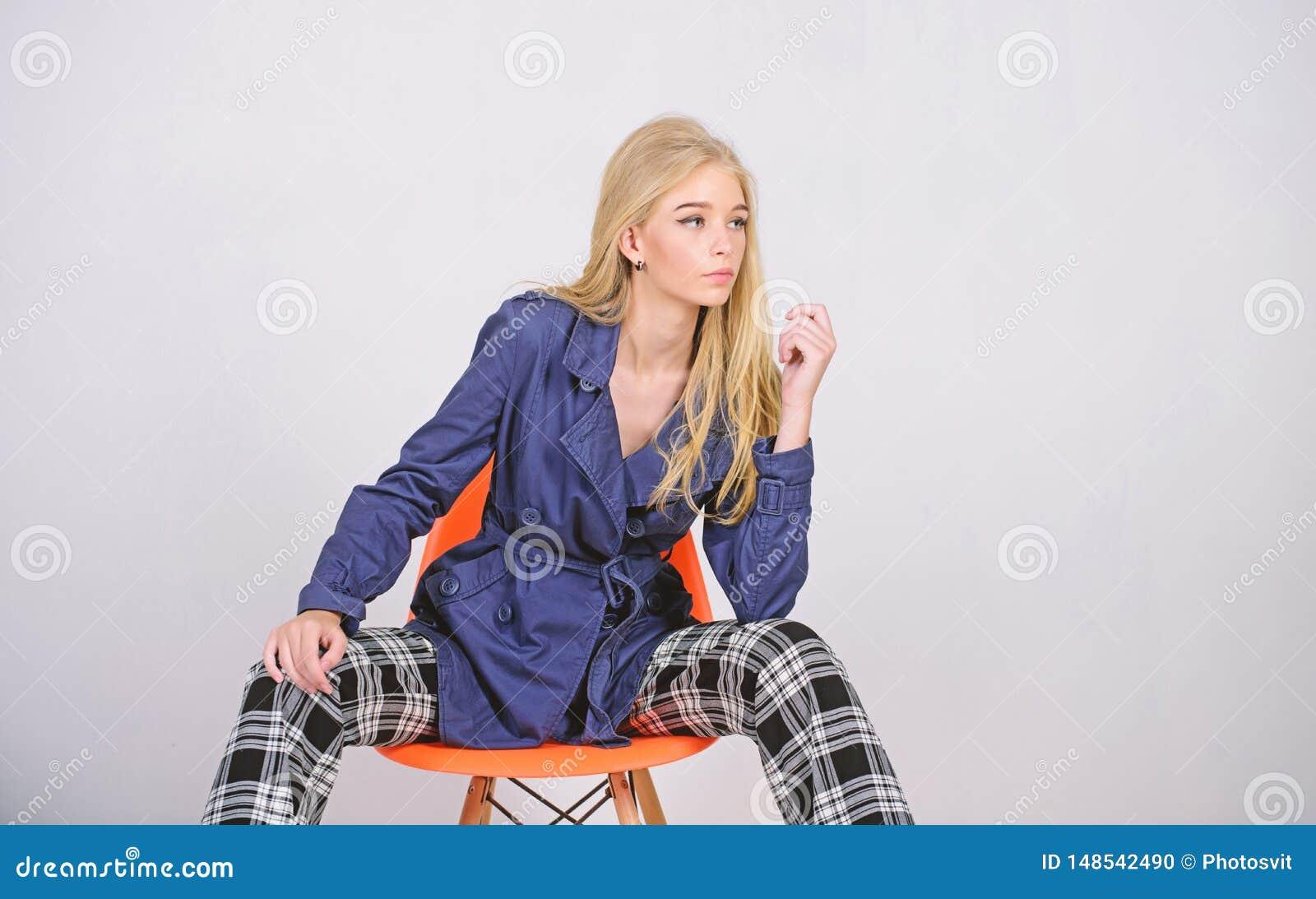 Odziewa i akcesorium TARGET626_0_ style Dziewczyny mody modela odzie?y ?akiet dla wiosna sezonu Okopu ?akieta mody trend mus