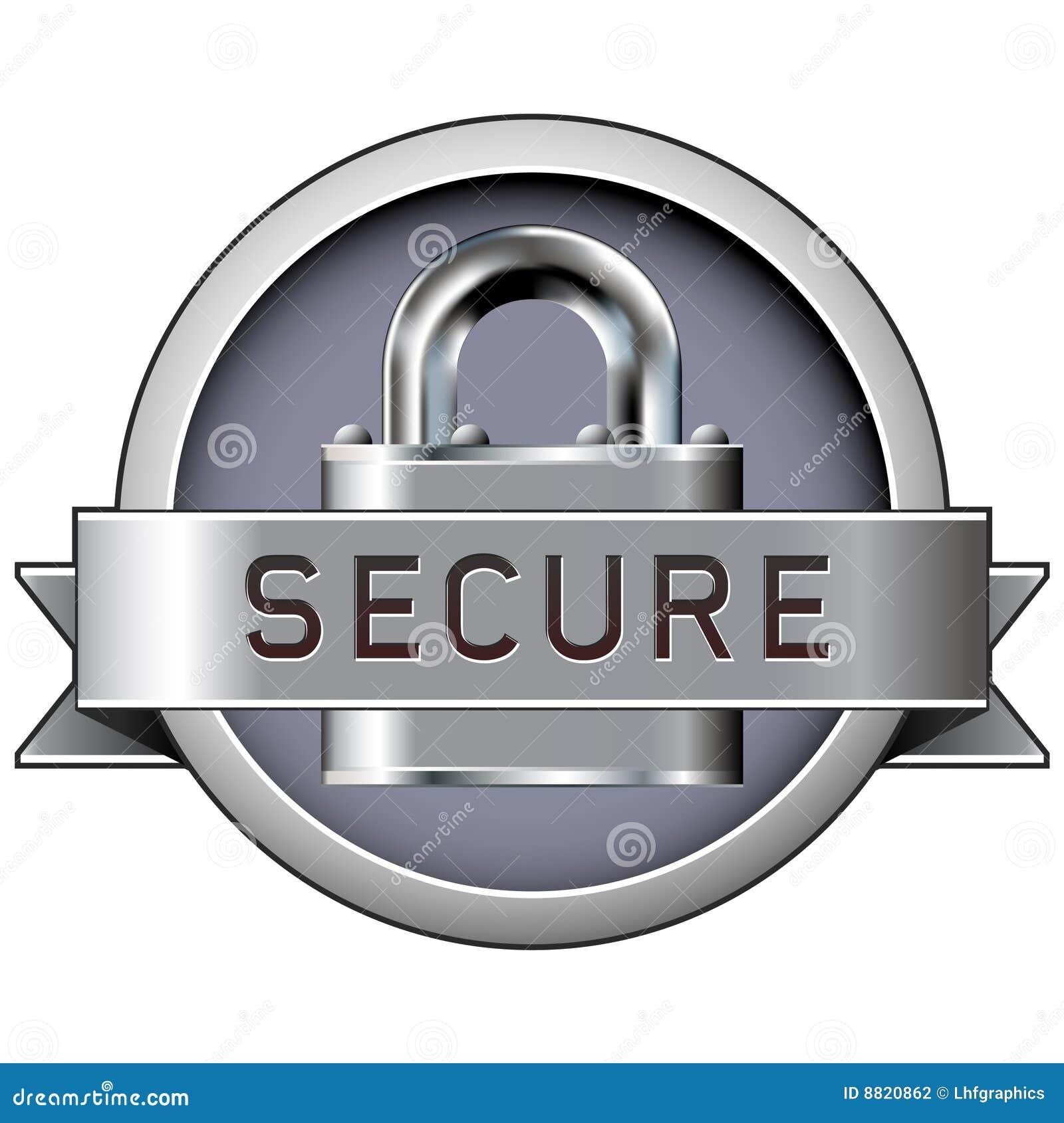 Odznaki druku bezpiecznie sieć