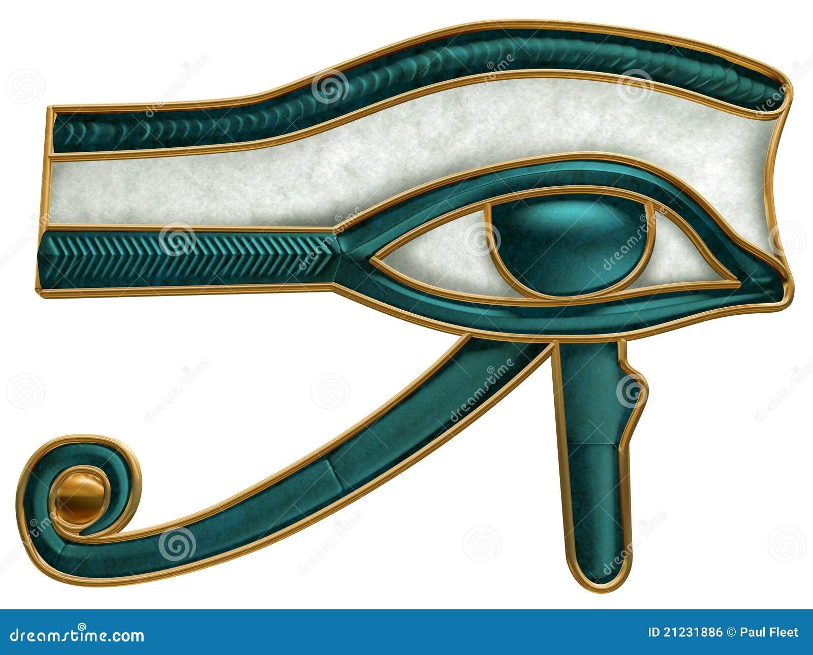 Oeil égyptien de Horus