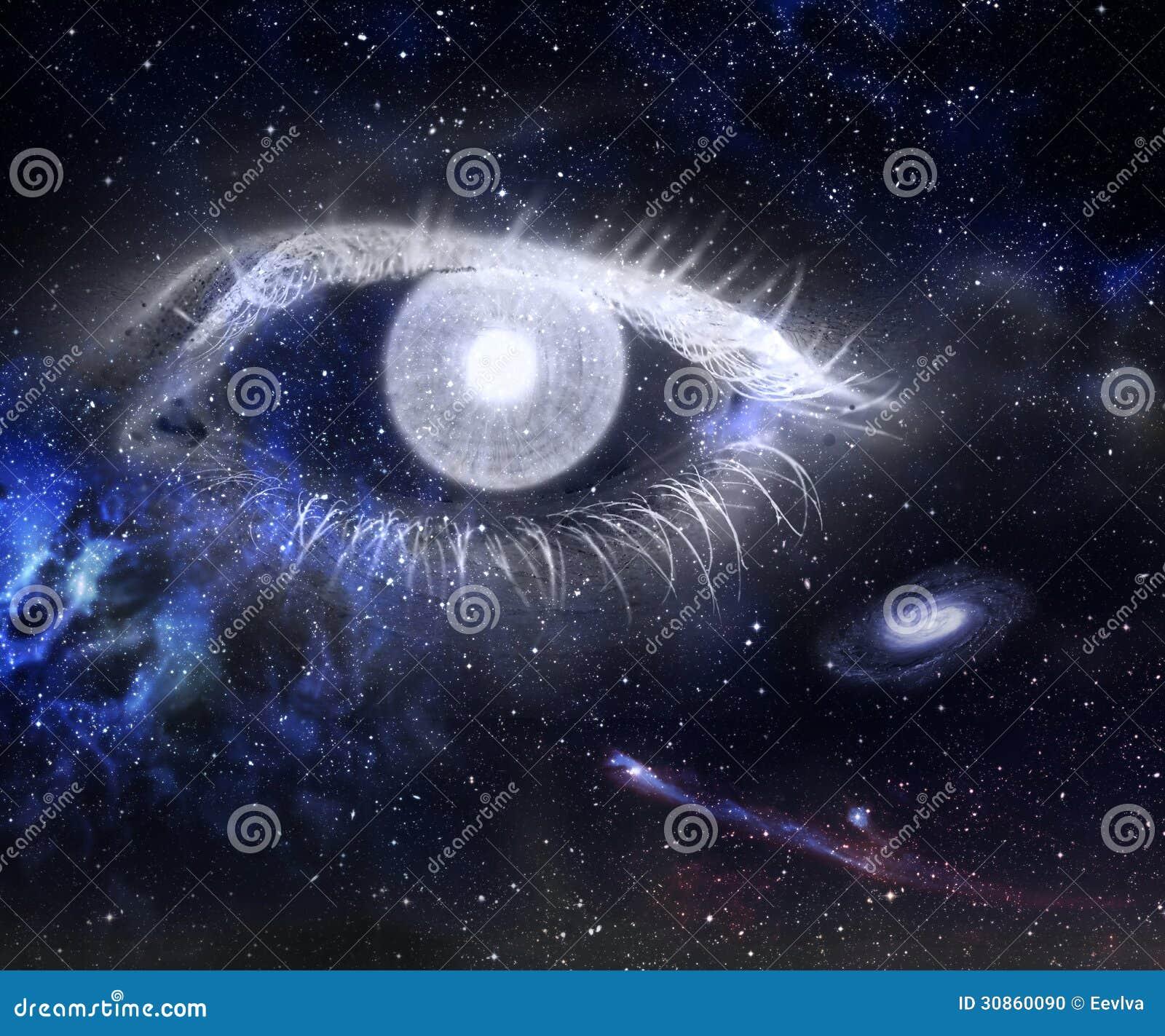 Oeil et univers.