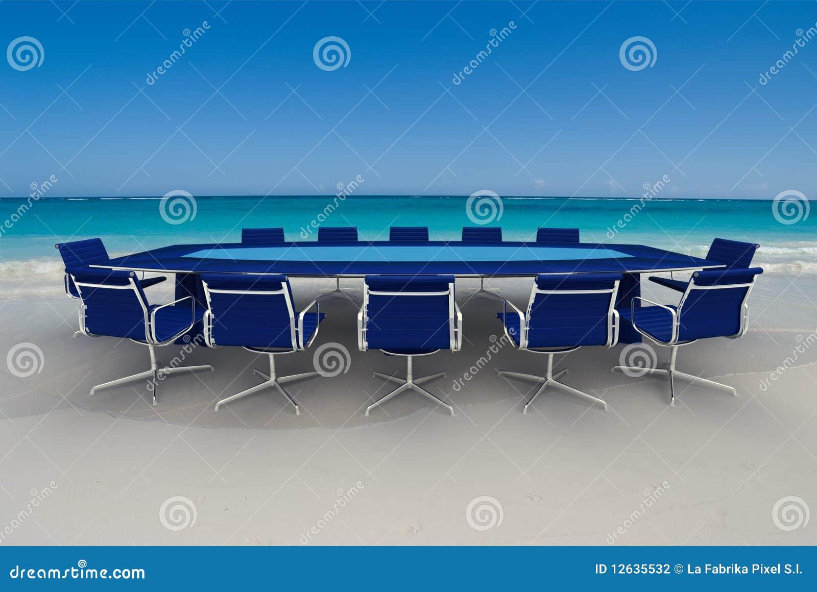 Oerhört möte för affär