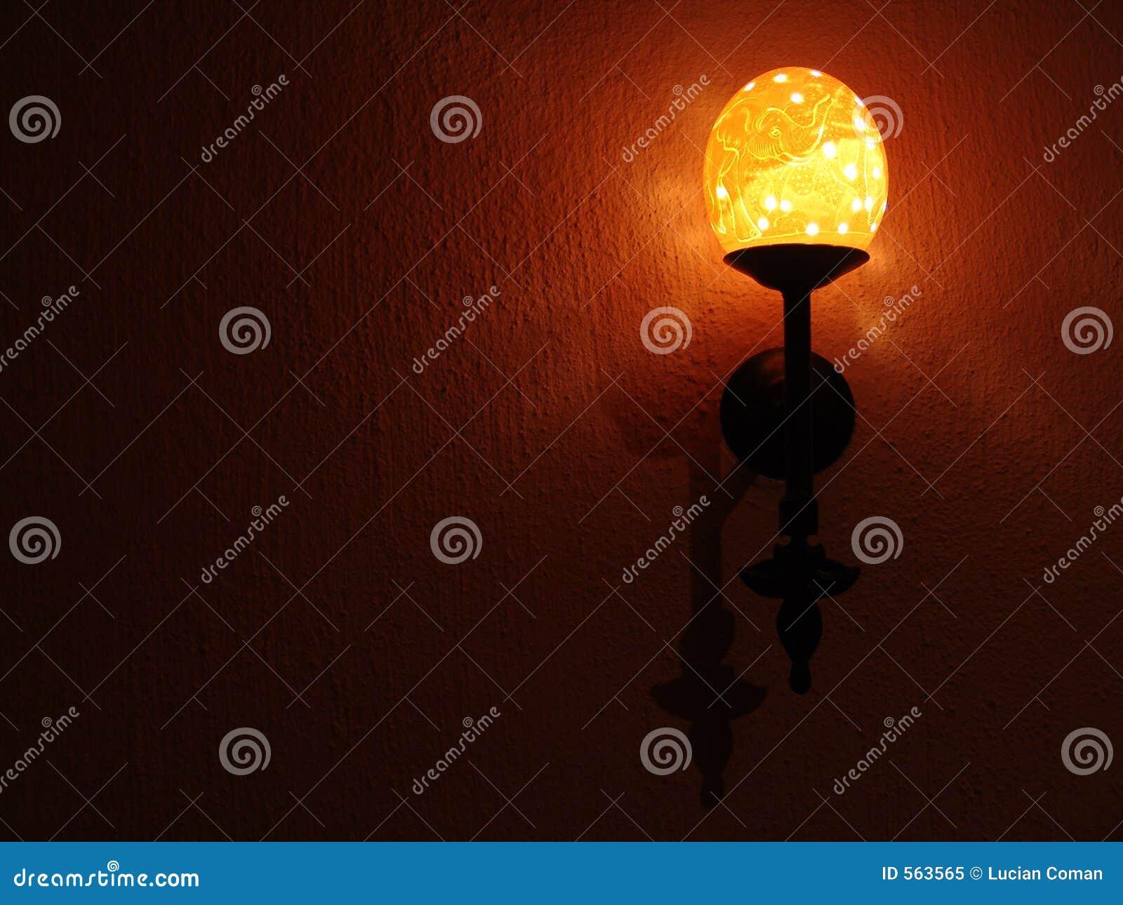 Oeuf D Autruche De Lampe Image Stock Image Du Eclairage 563565