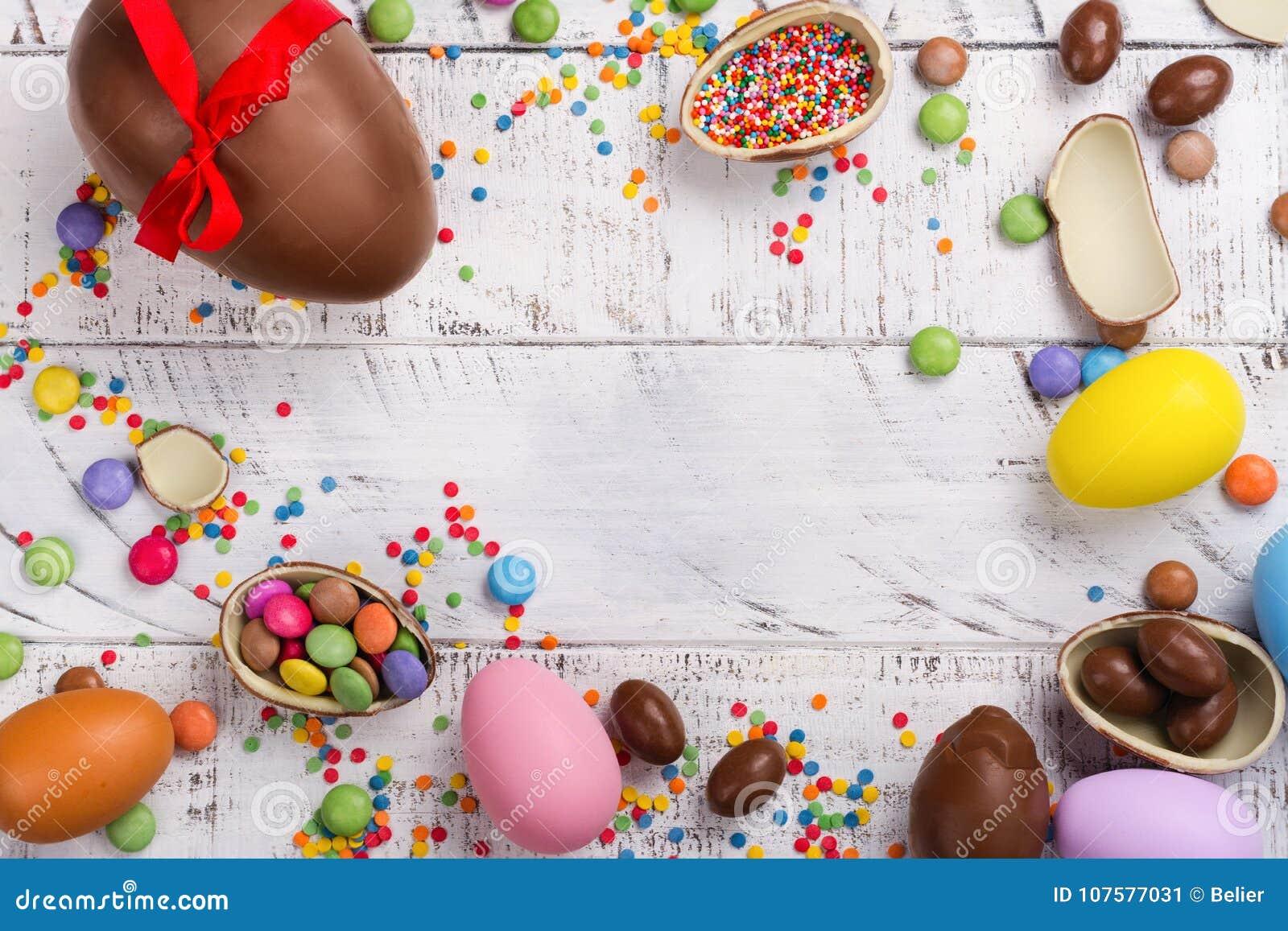 Oeuf de chocolat de Pâques