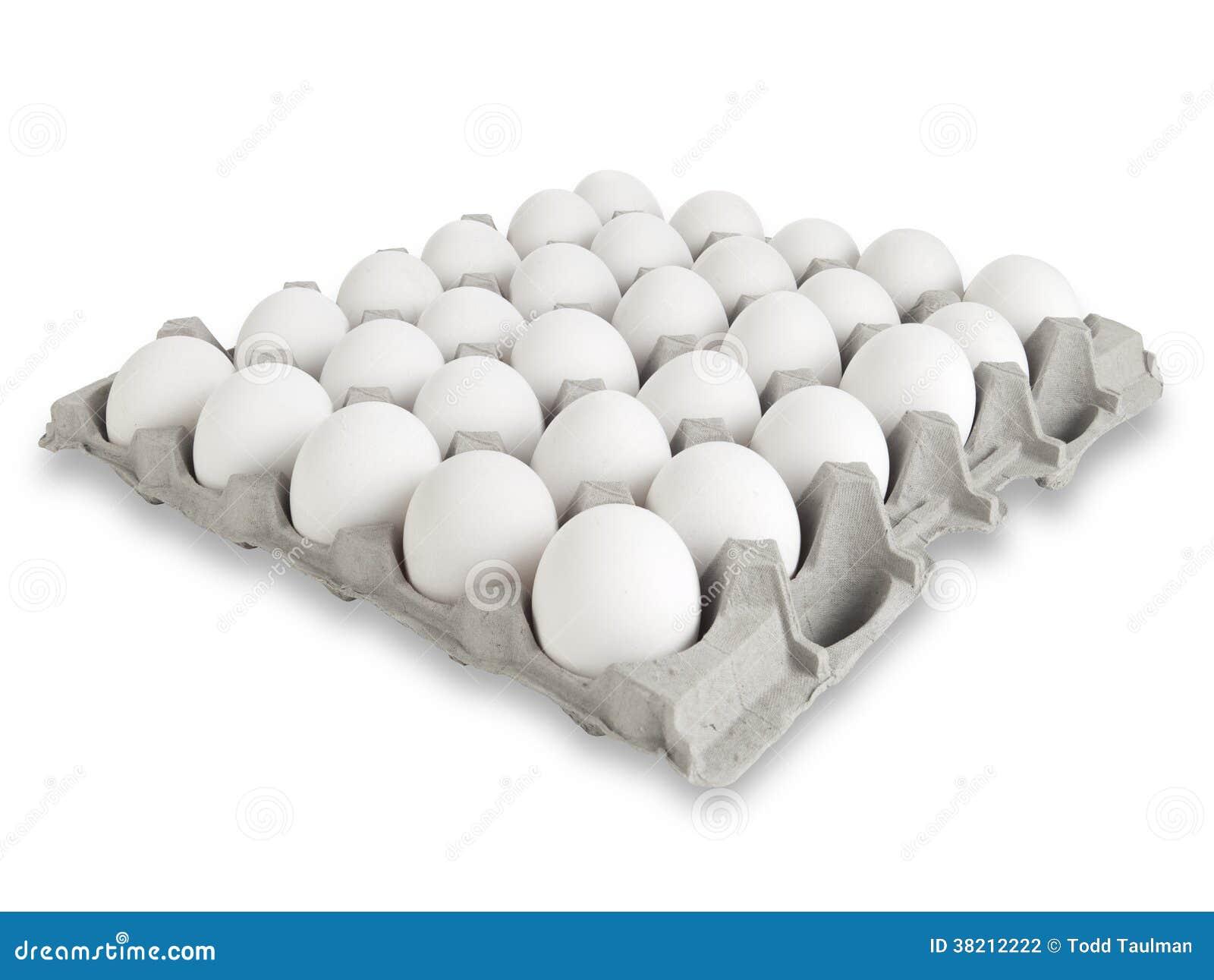 30 oeufs blancs photo stock. Image du découpage, baking - 38212222