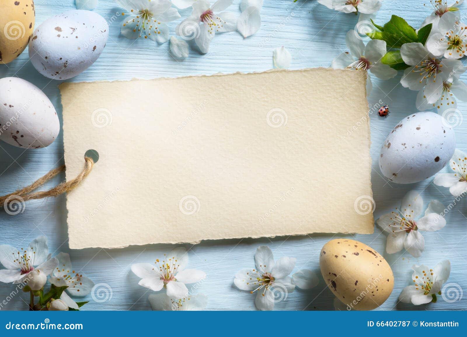 Oeufs de pâques colorés Fond avec des oeufs de pâques