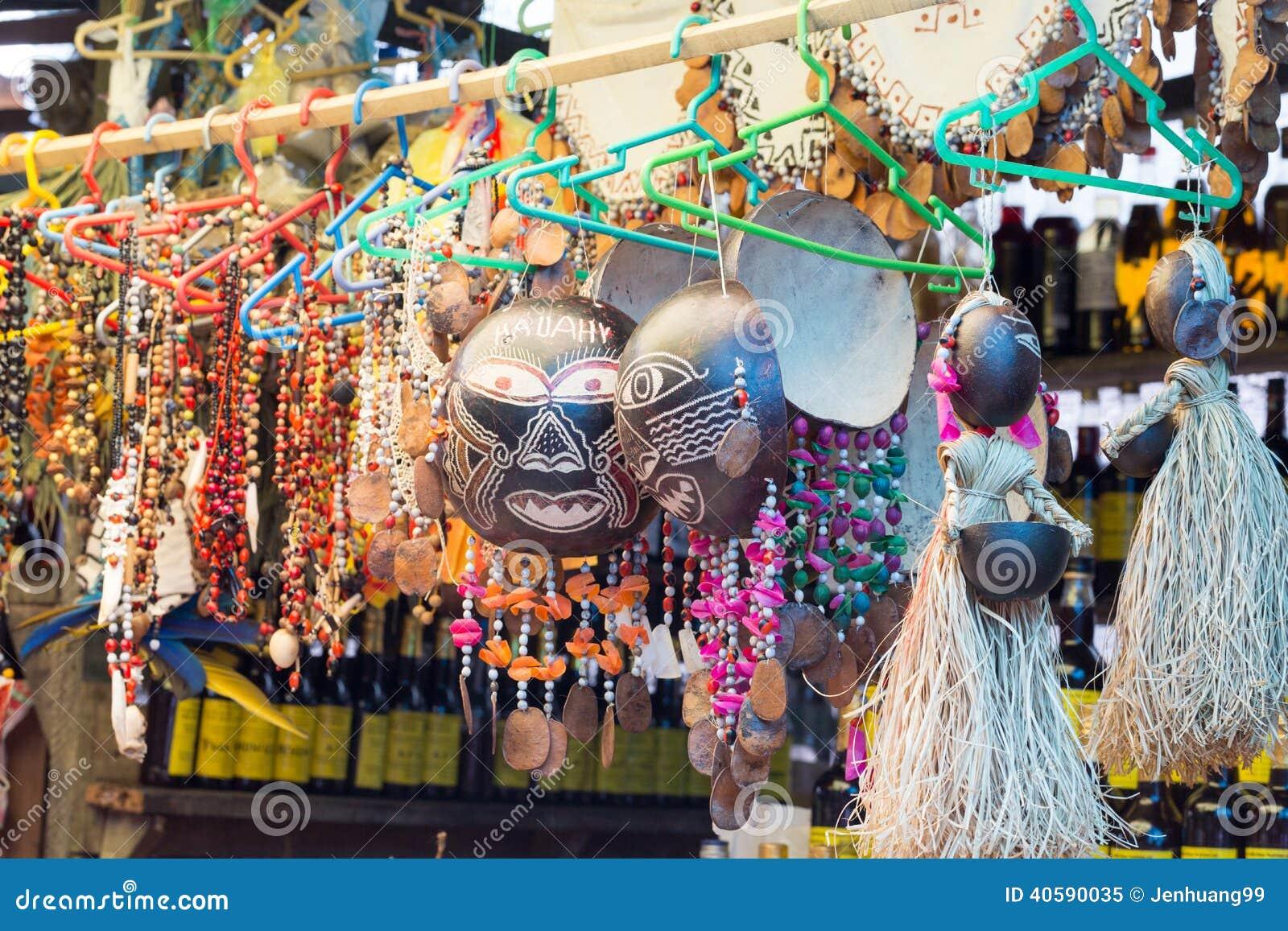 Ofícios do Amazonas em Belen Market, Iquitos, Peru