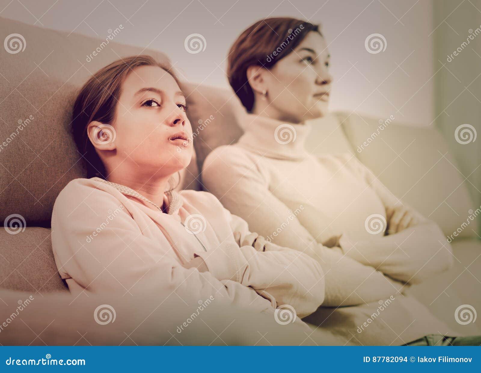 Ofensa de la toma de la madre y de la hija