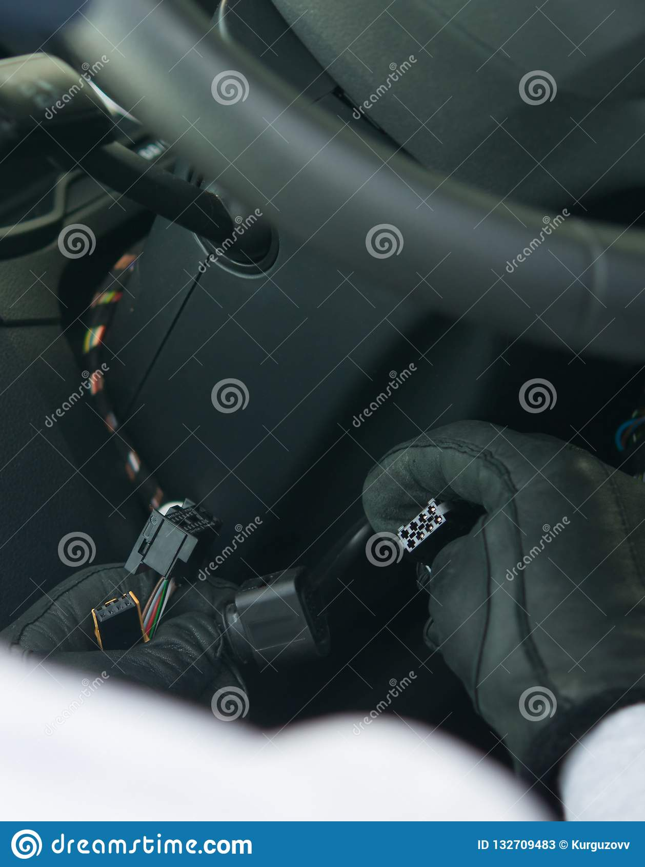 Ofensa, hurto del propiedad-coche privado, primer, ladrón