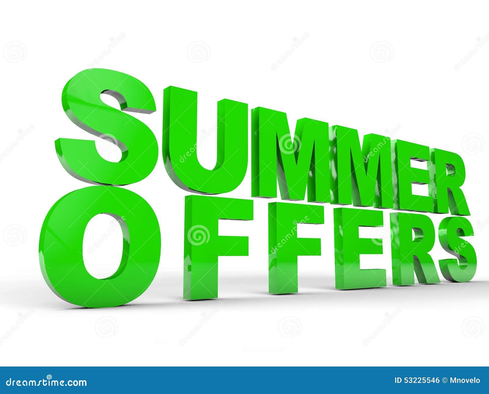 Ofertas del verano