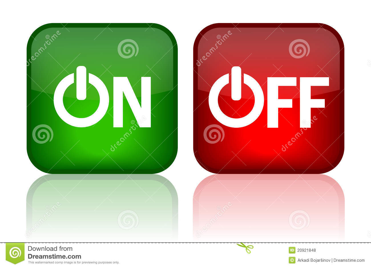 On Off Button Royalty Free Stock Photos - Image: 20921848