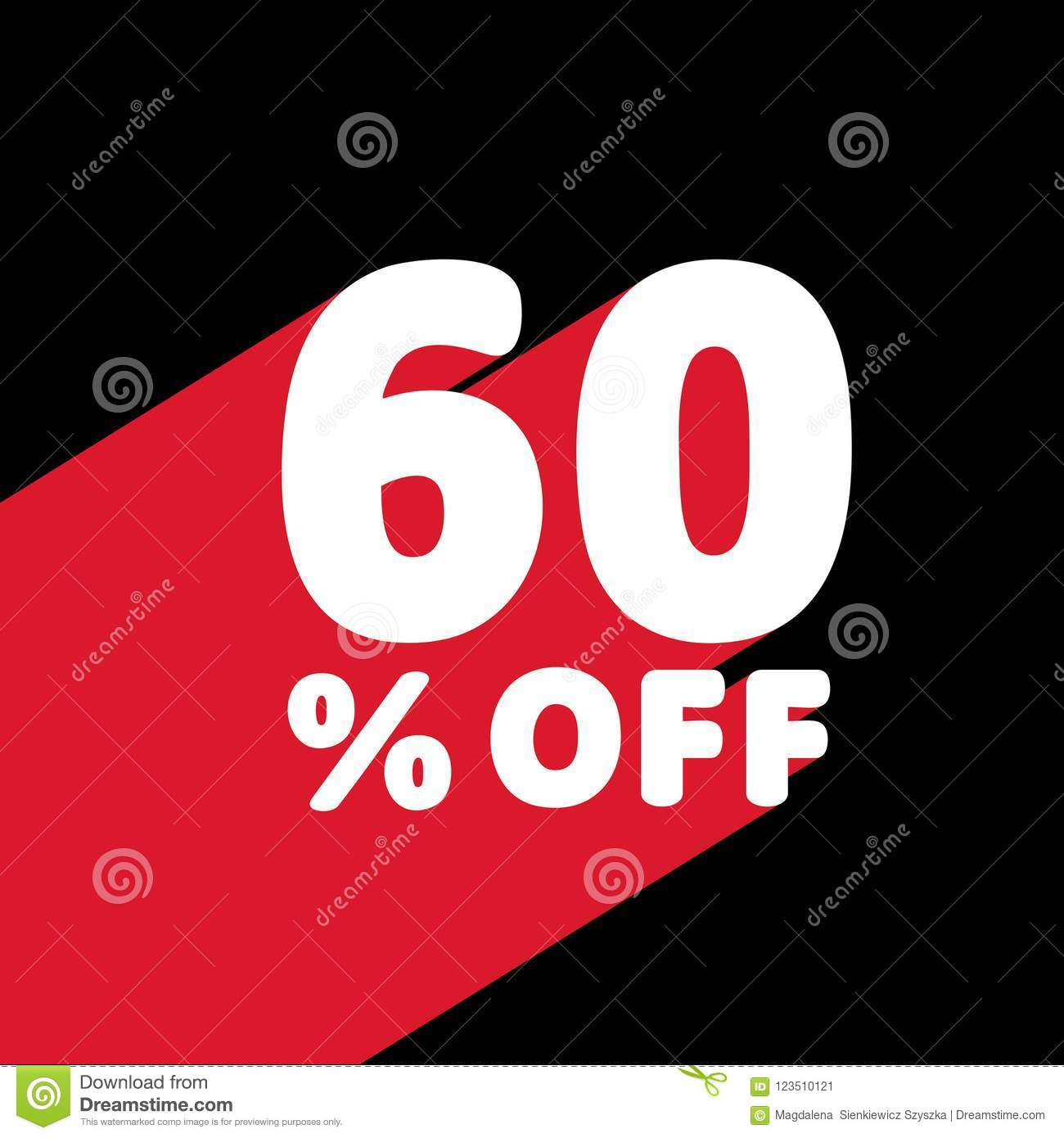 cca4ad054 60 OFF Discount. Discount Offer Price Illustration. White Text with Red  Shadow Below.