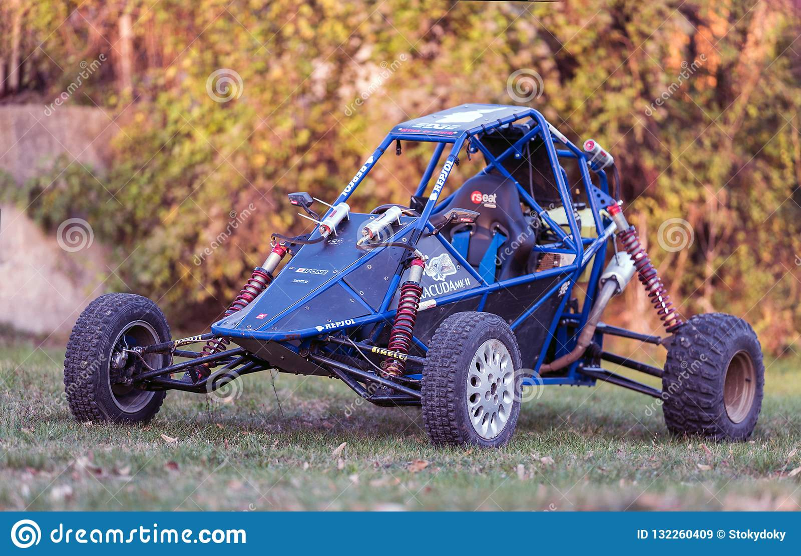 Off Road Buggy Car  Model Buggy Barracuda Editorial Stock Image