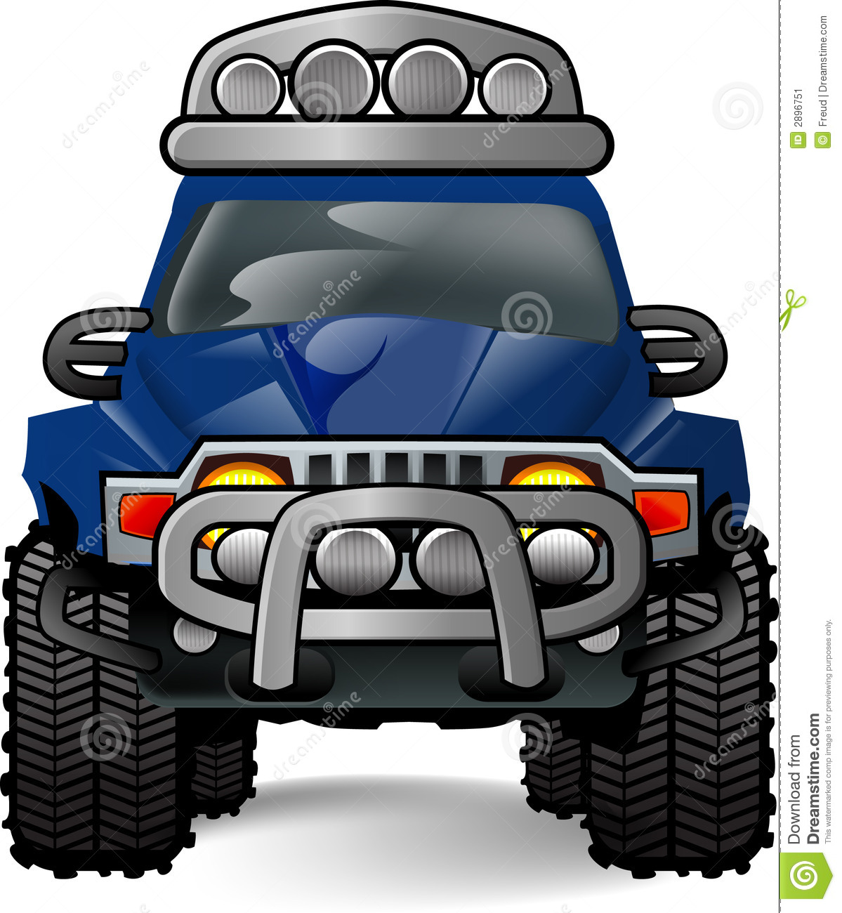 Off Road Car Stock Illustration Illustration Of Action