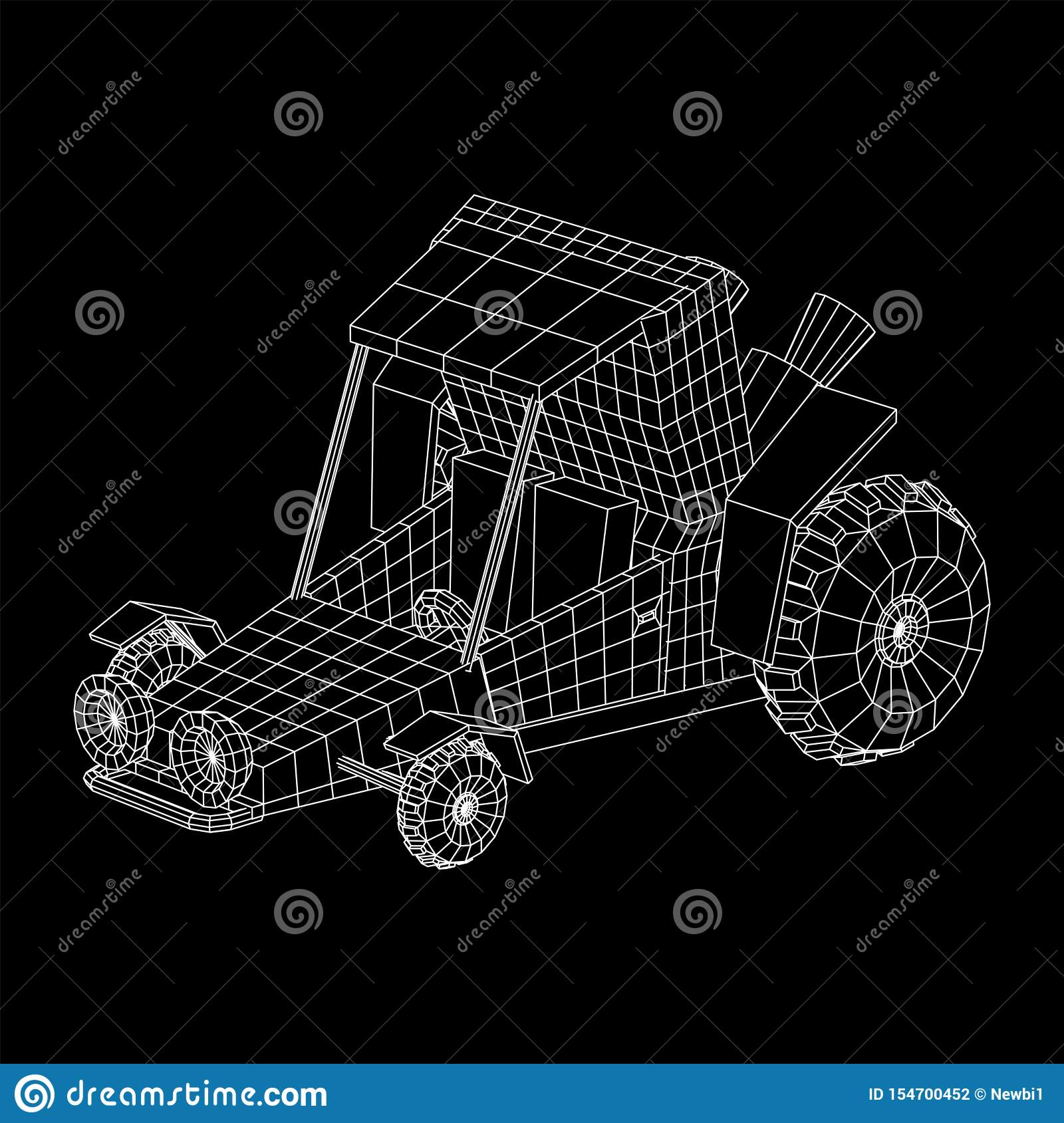 Off Road Dune Buggy Car Stock Vector Illustration Of Dirt 154700452