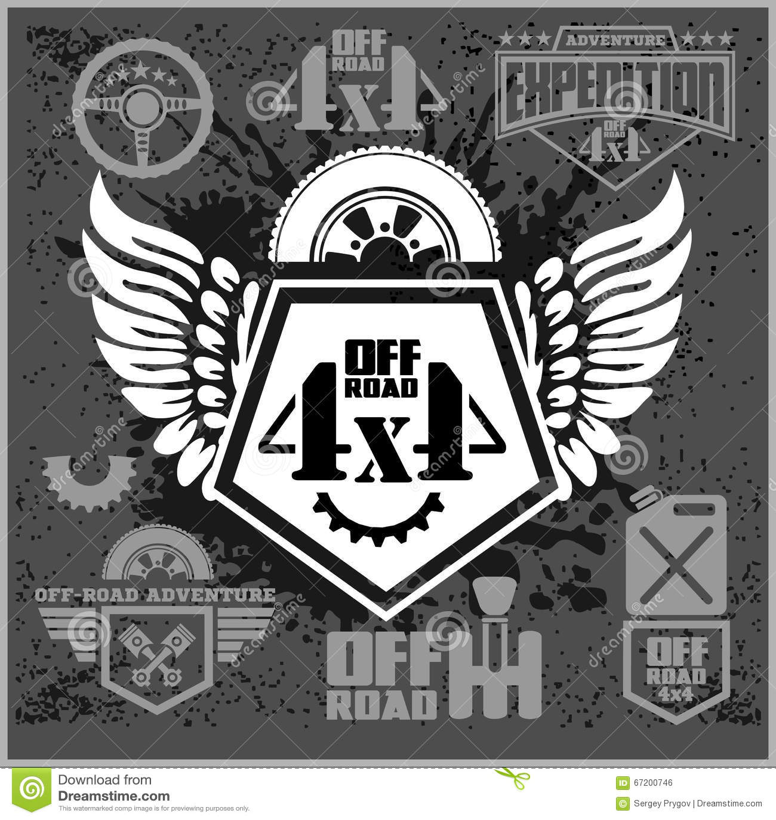 Design car emblem - 4x4 Car Design Road Suv Automotive Extreme Emblem