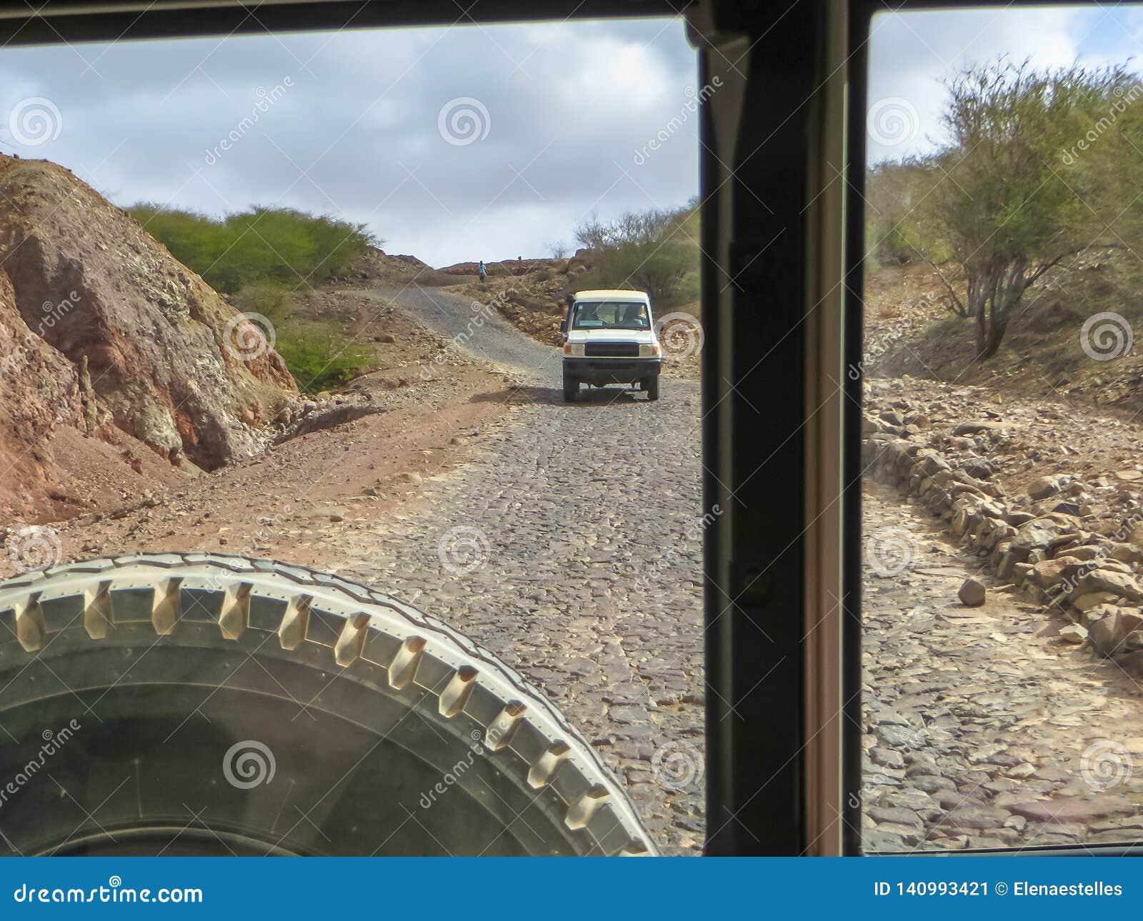 Off-road voertuigreis