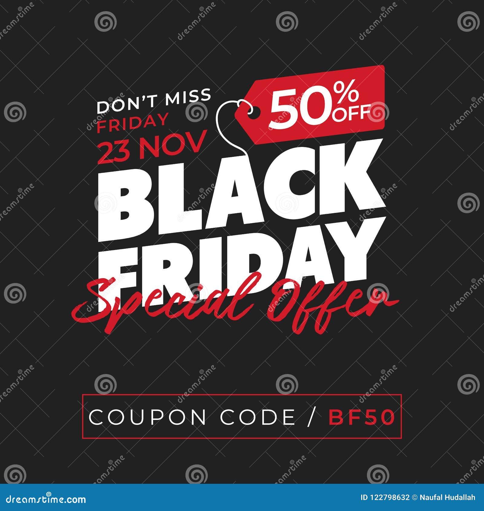 50 off sale black friday special offer banner background online