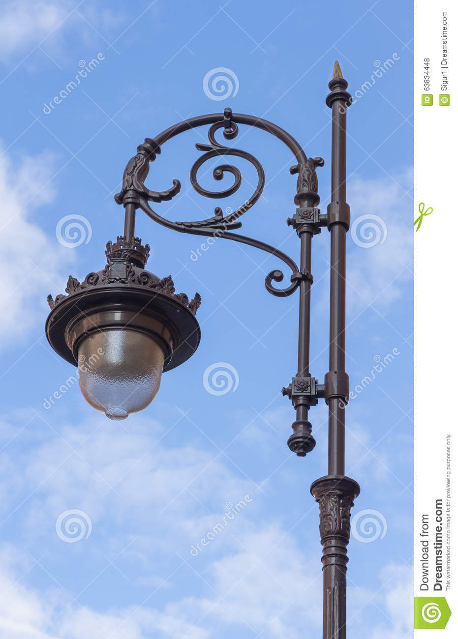 Off Street Light Of Day Stock Photo Image Of Glowing