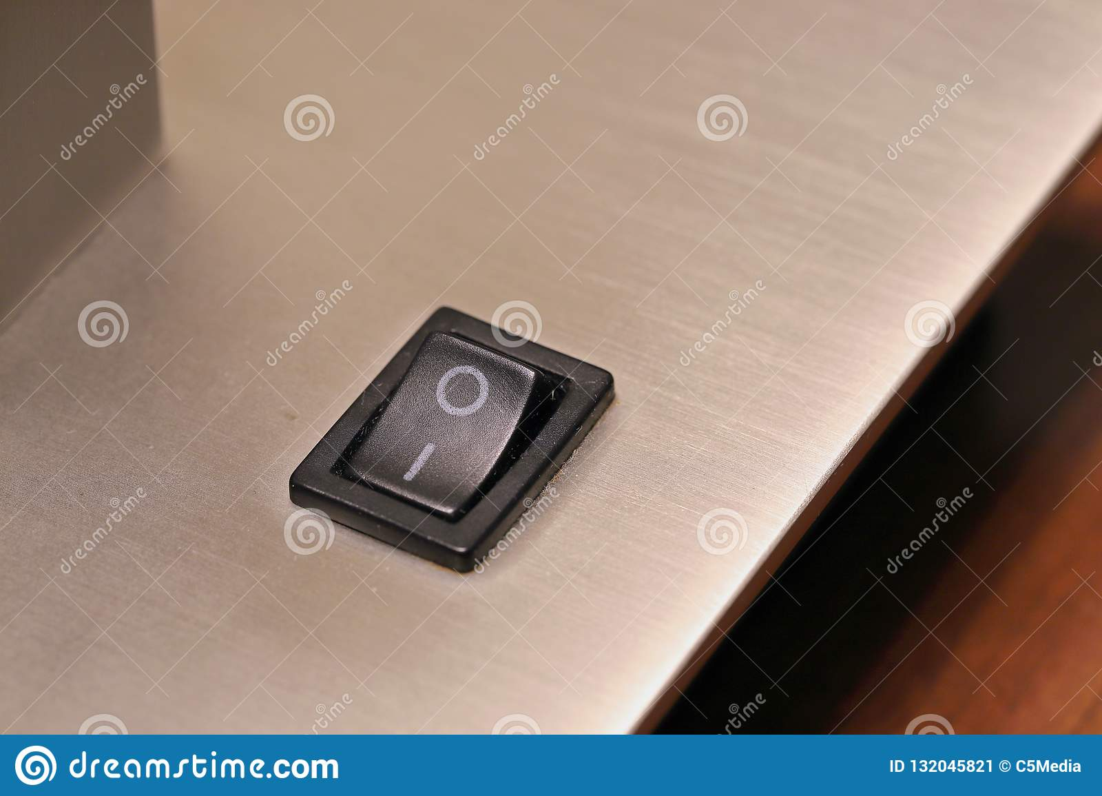 On Off Switch For Lamp Stock Image Image Of Energy 132045821