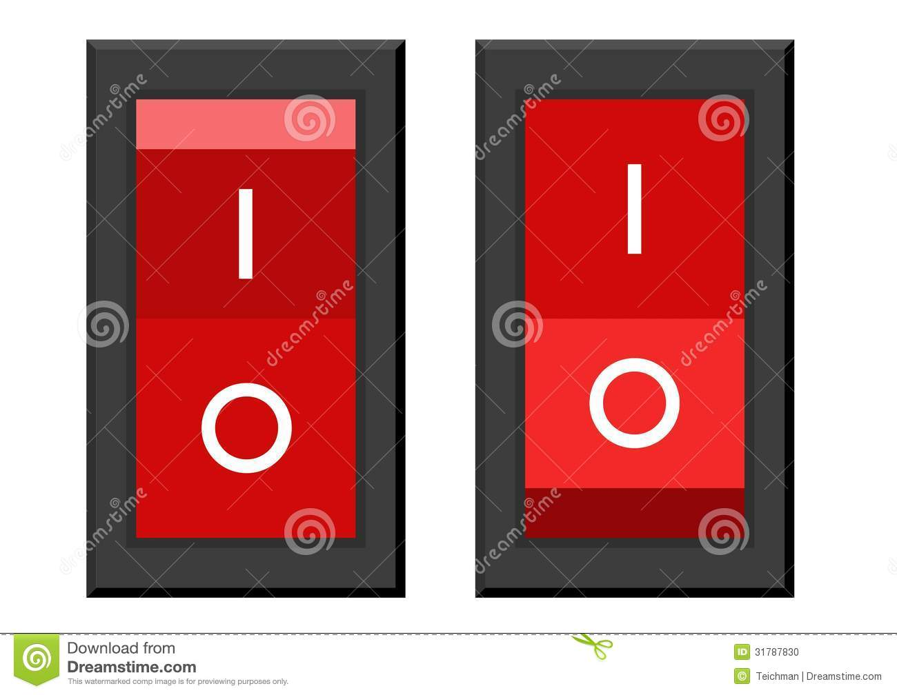 On Off Switch Stock Photo Image 31787830