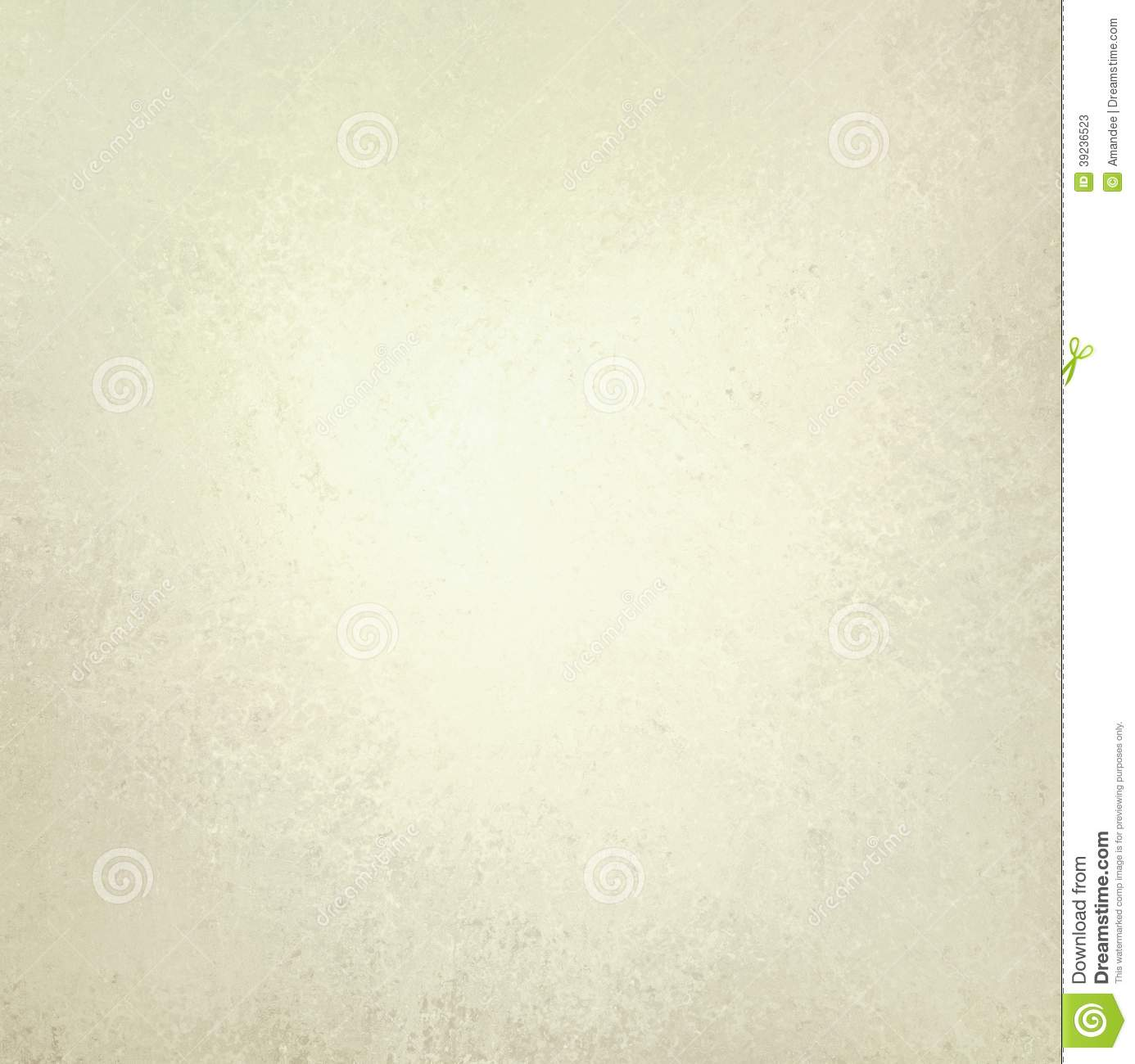 Off White Background With Faint Vintage Texture Stock Photo 39236523