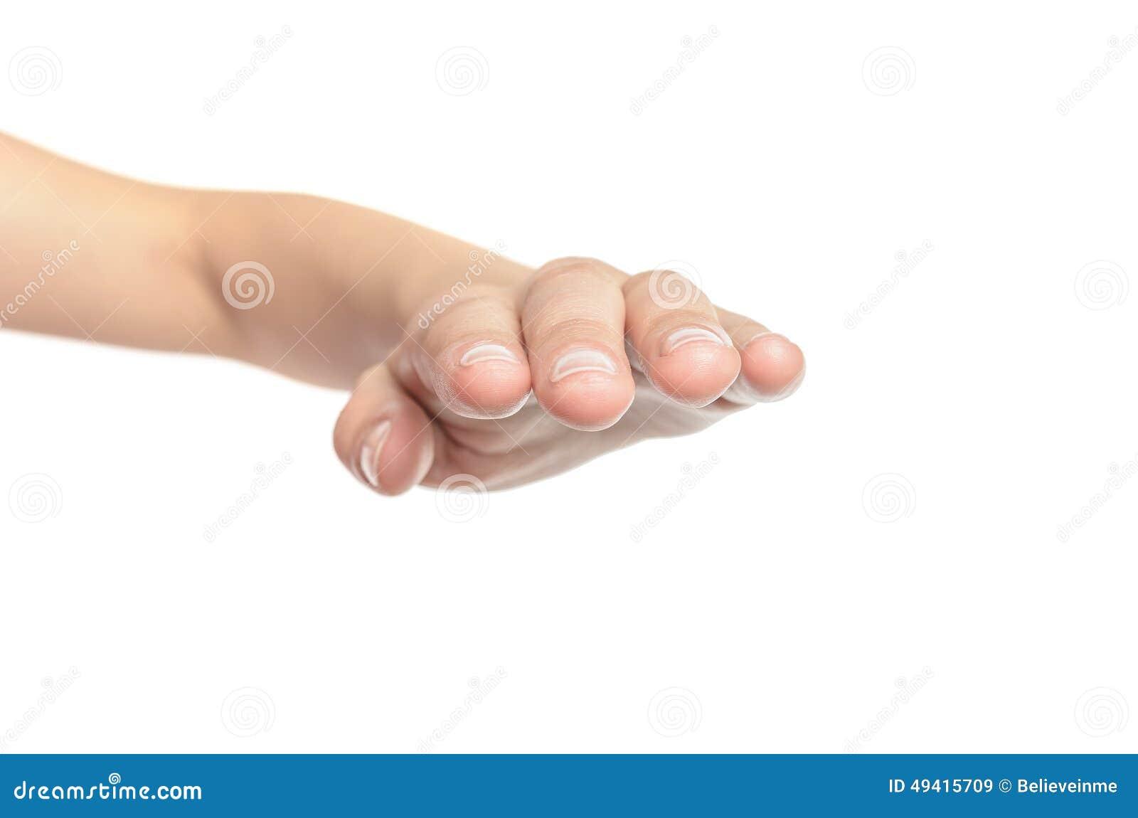 Download Offene Hand der Frau stockbild. Bild von sauber, obacht - 49415709