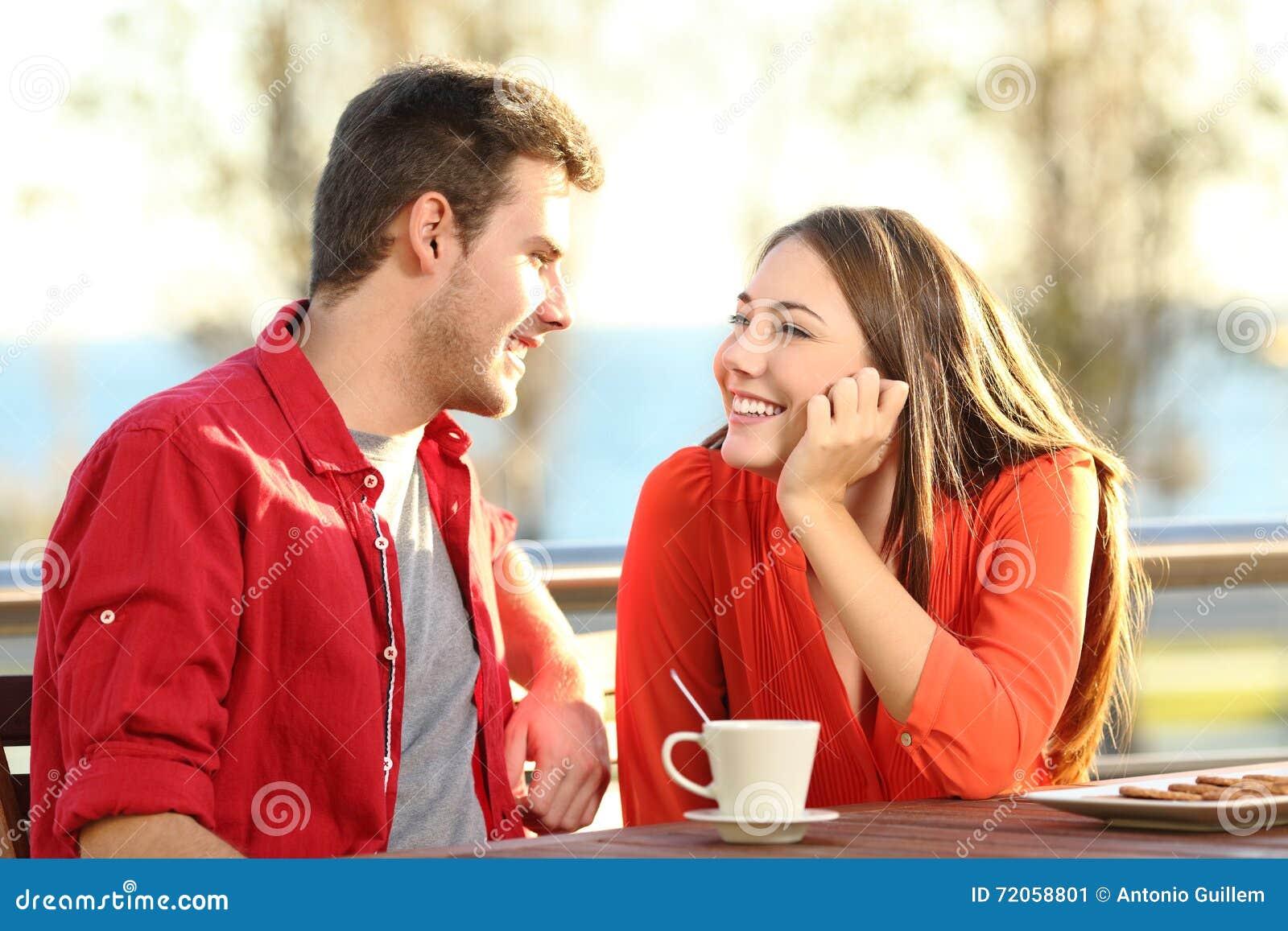 Flirten oder freundlichkeit