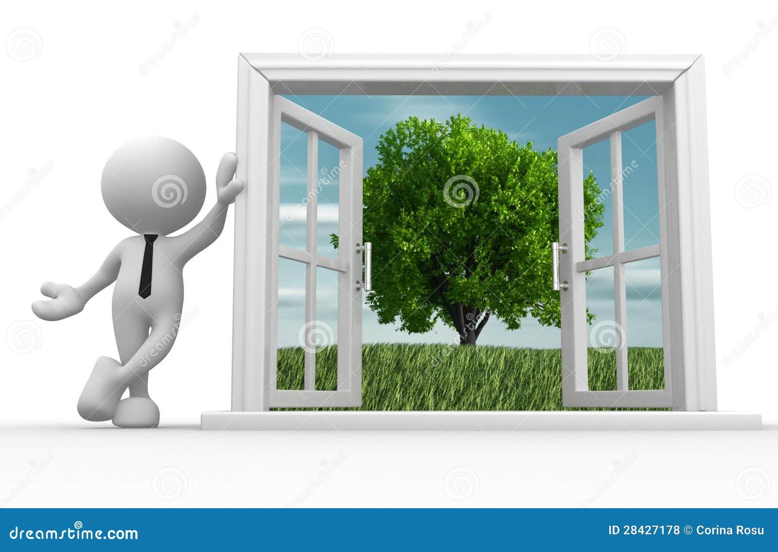 Offenes fenster  Offenes Fenster Lizenzfreie Stockfotos - Bild: 28427178