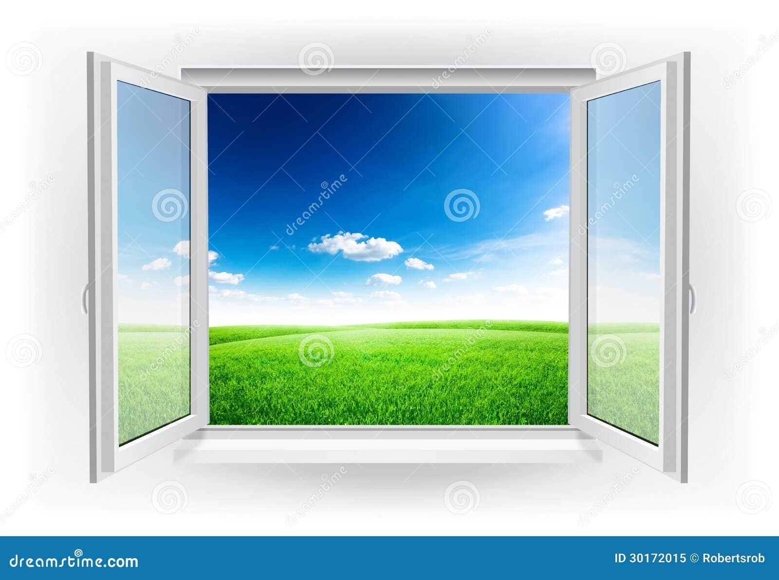 Offenes Fenster Himmel