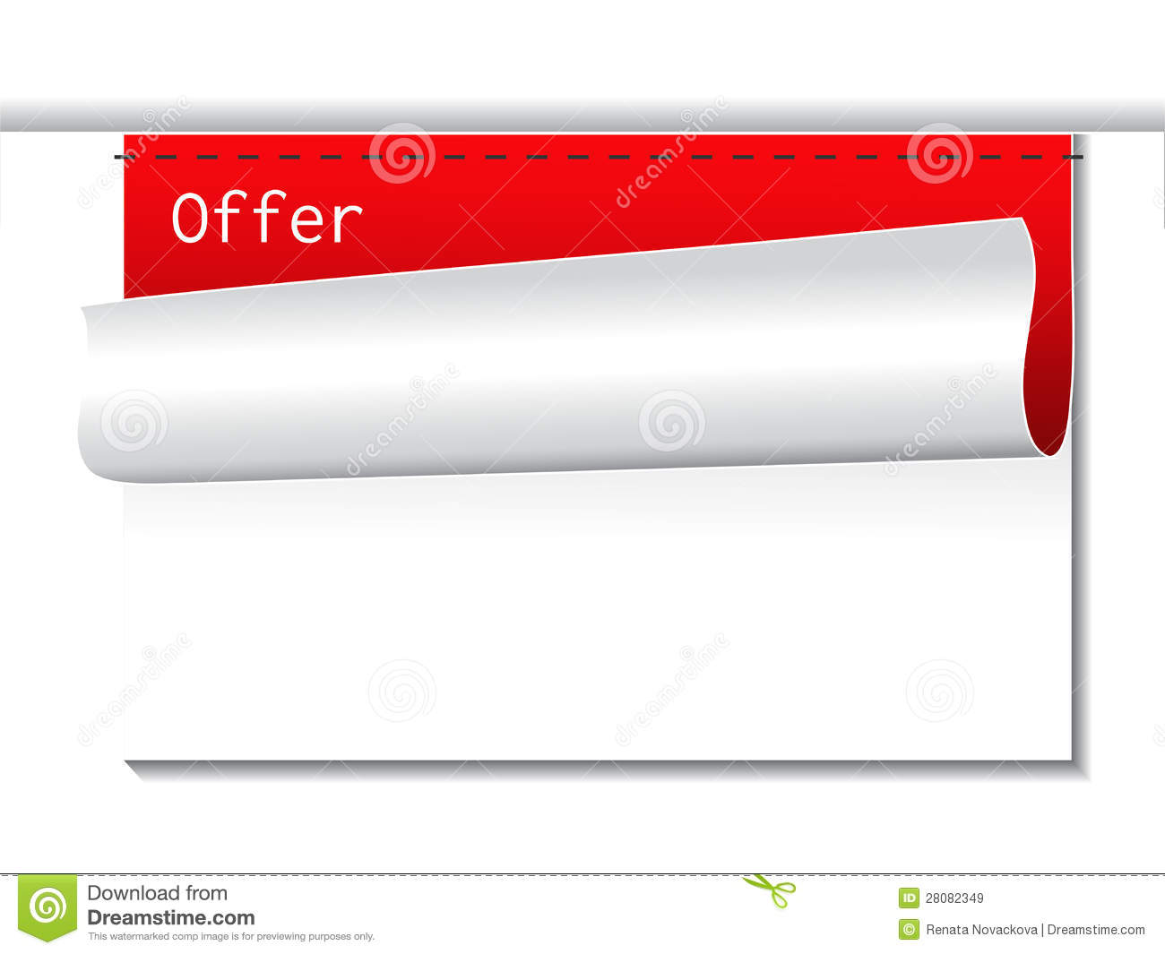 offer template banners for advertising text royalty stock offer template banners for advertising text
