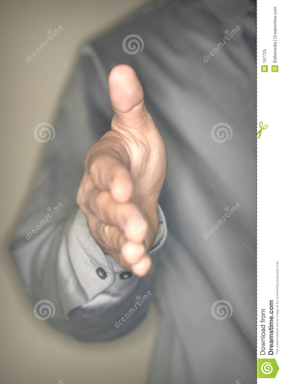 Offer to Shake Hands
