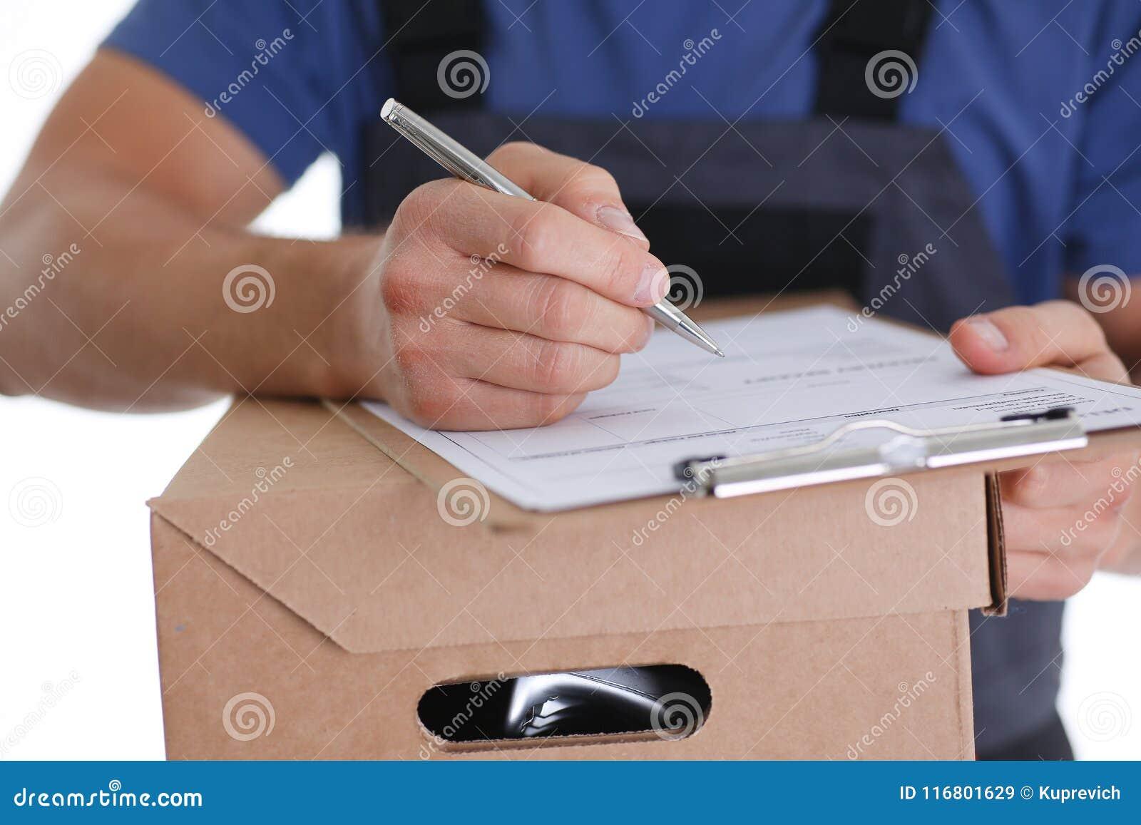 Offerte di servizio di distribuzione del corriere dello specialista