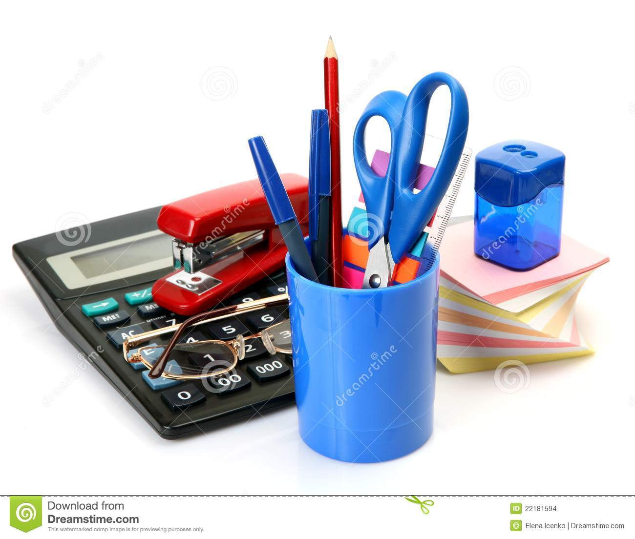 office accessories stock images image 22181594