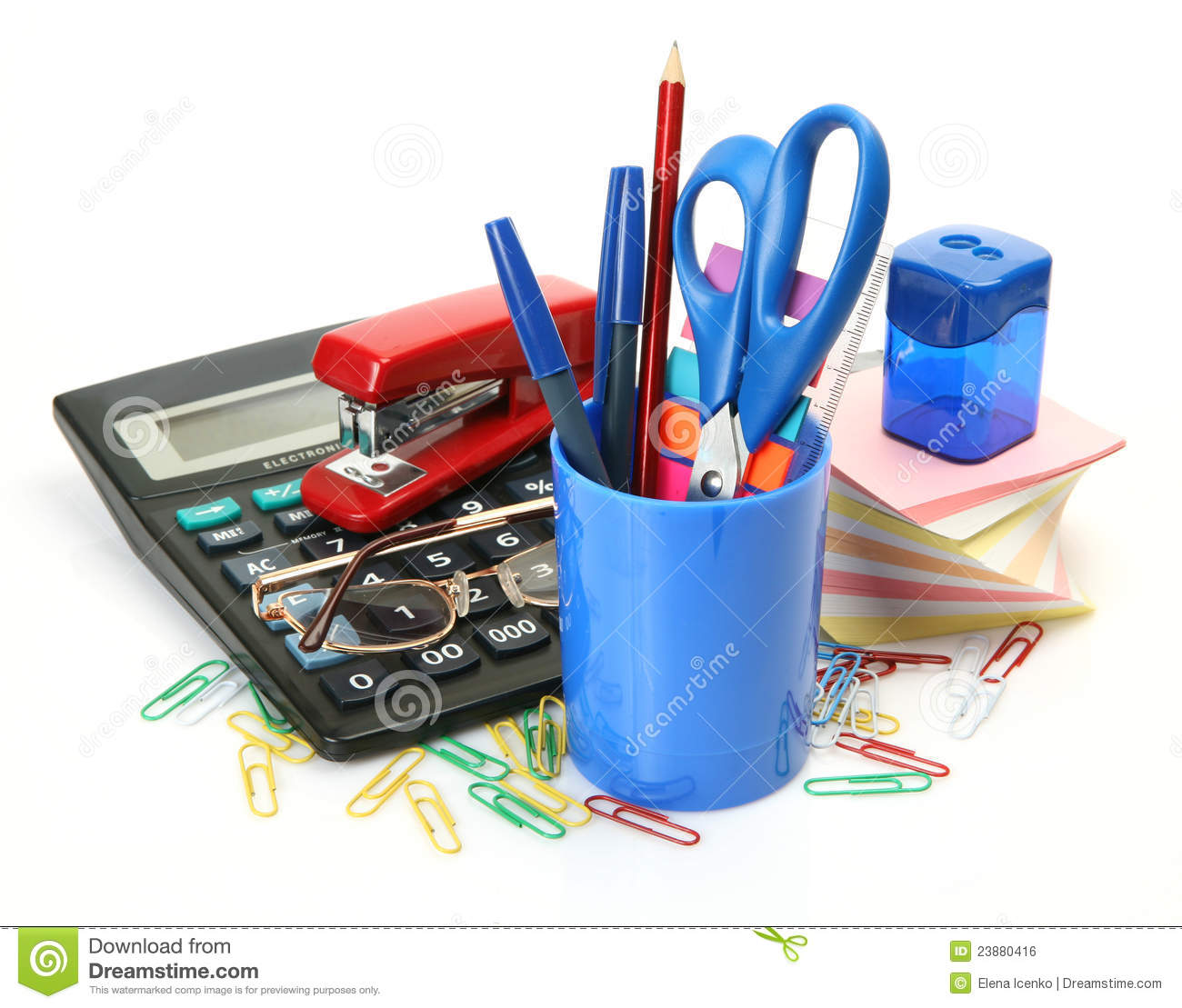 Office Accessories Royalty Free Stock Image Image