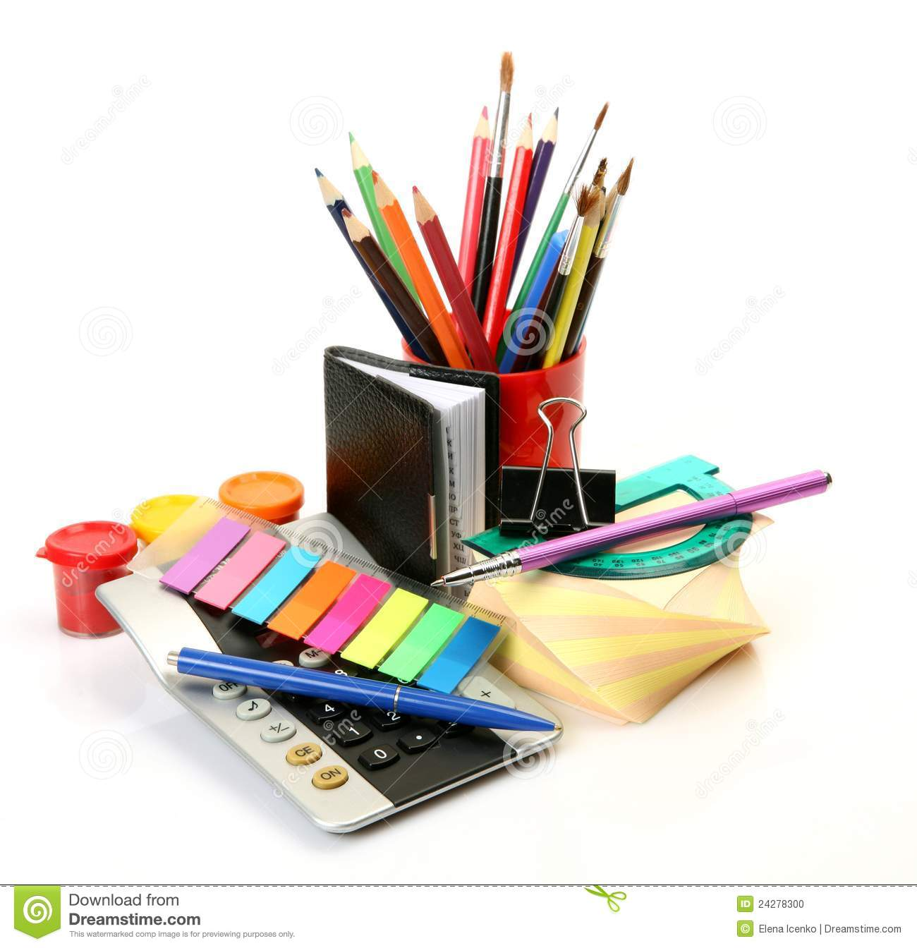 office accessories stock photo image 24278300