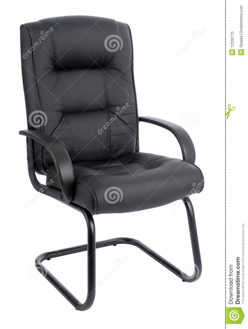 Office Armchair Of Leather Royalty Free Stock Photo Image 12332775