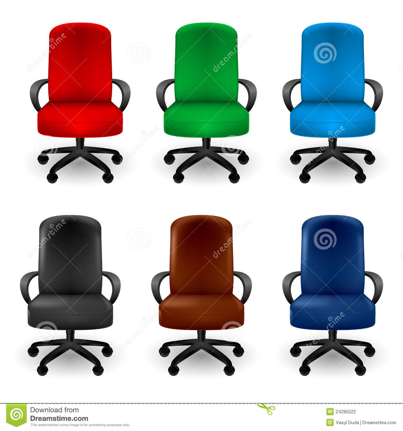 Office Armchairs stock vector. Illustration of backgrounds ...