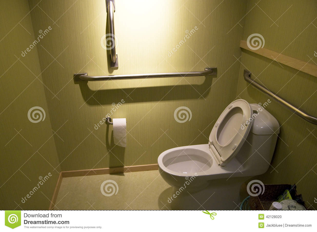 Office bathroom toilet stock photo image of design seat for Simple toilet design