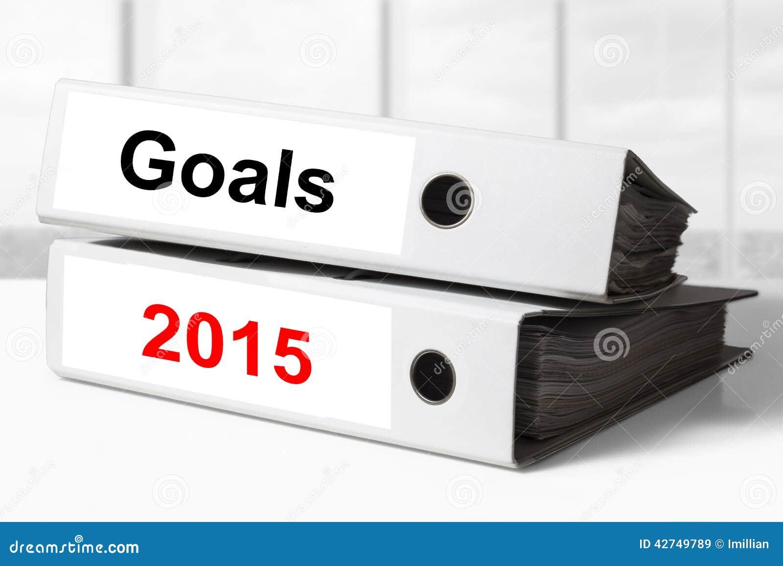 Office binders goals 2015