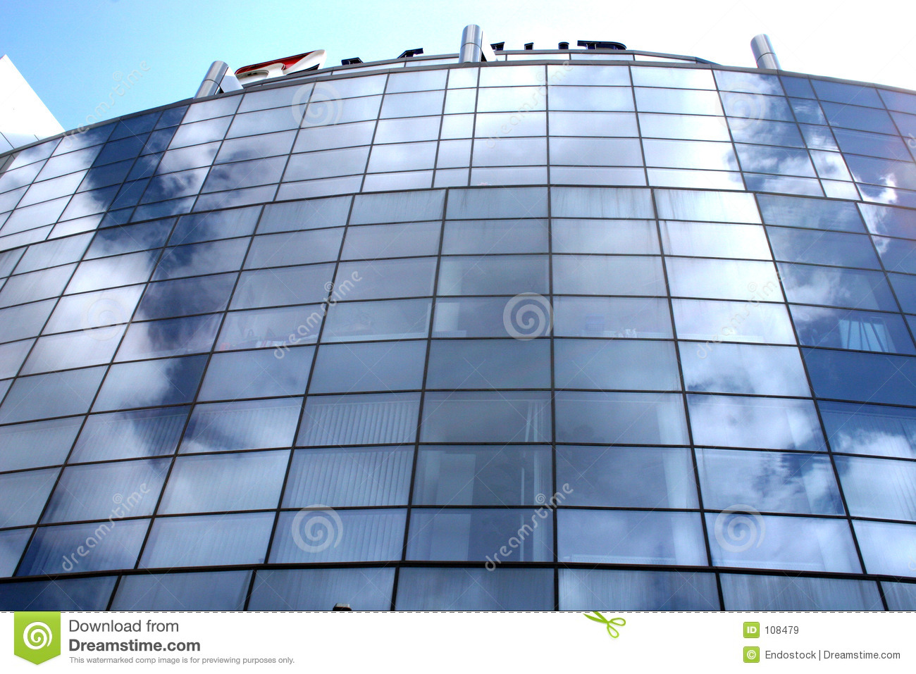 Office building in the daylights