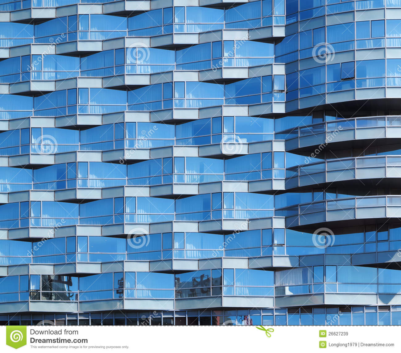 Office Building Facade Stock Photo Image 26627450