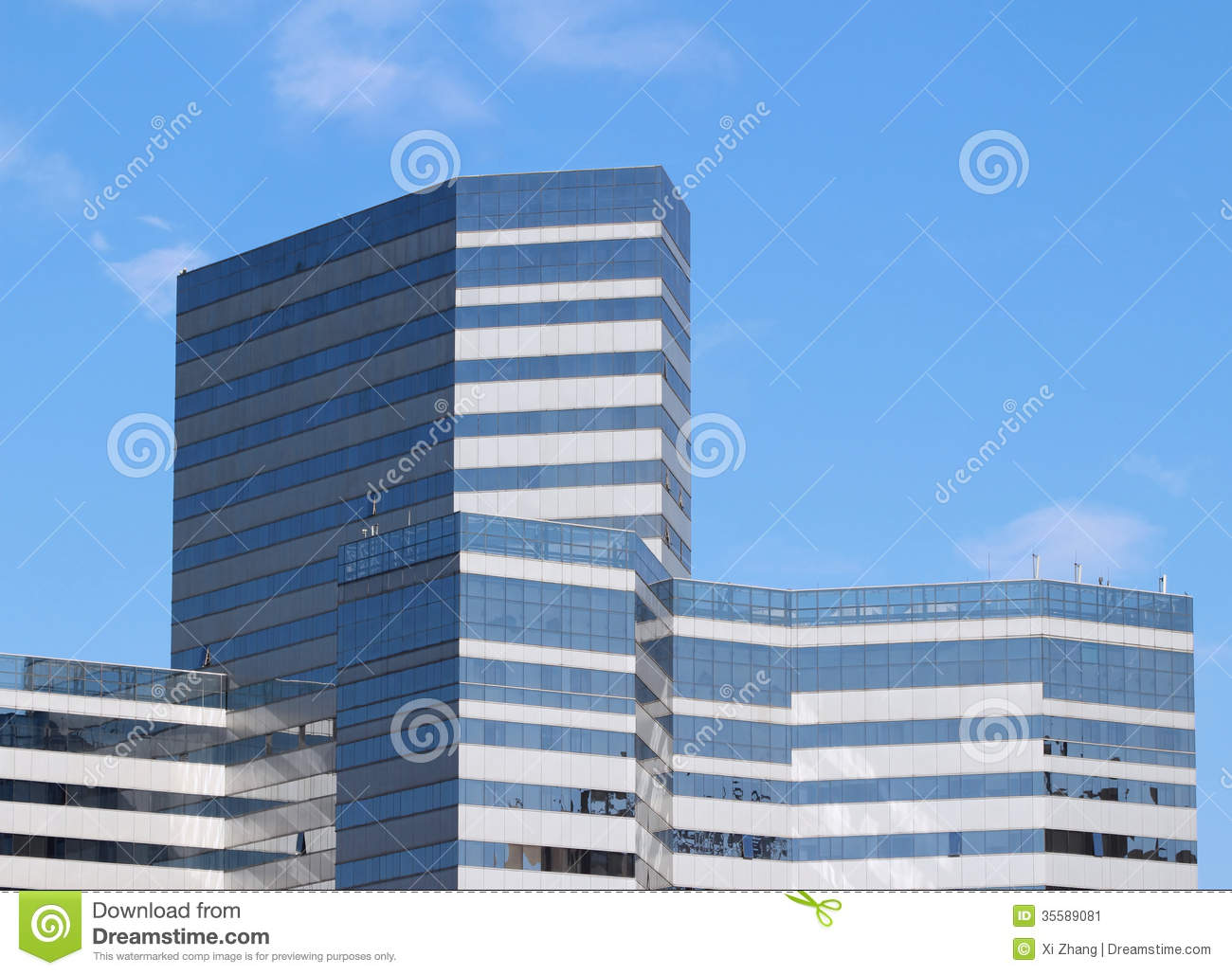 Office Building Facade Stock Image Image 35589081