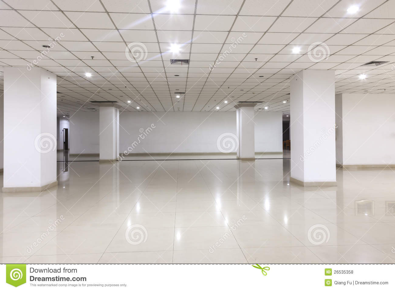 Office Building Inside Royalty Free Stock Photos Image