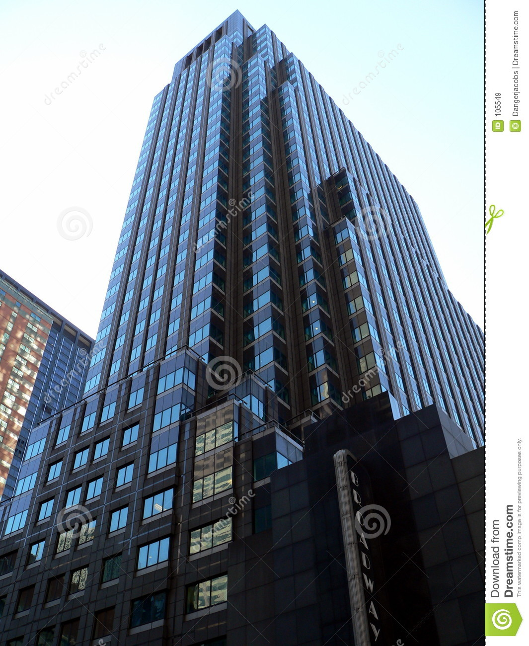 ... Building In New York City Royalty Free Stock Images - Image: 105549