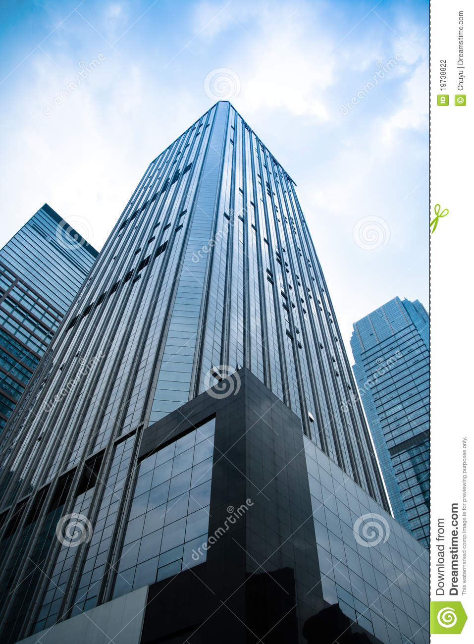 Office building in in perspective stock photography for Structure photography